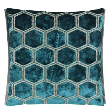 Hexagon mönster från Designers Guild