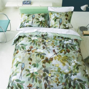 Designers Guild Maple Tree Celadon Sänglinne