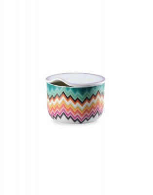 Missoni Home Porslin Zig Zag Sockerskål