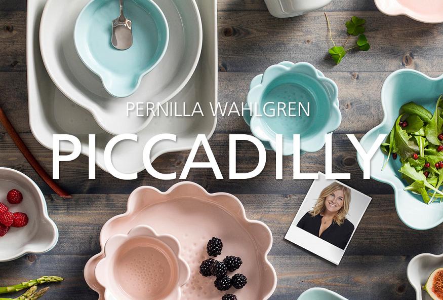 Piccadilly Pernilla Wahlgren Set om 15 delar